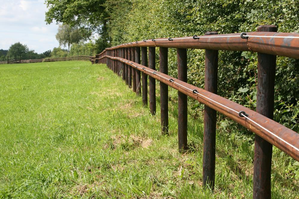Cl ture lectriques ou en bois pour chevaux pours et contres for Cloture en palette bois