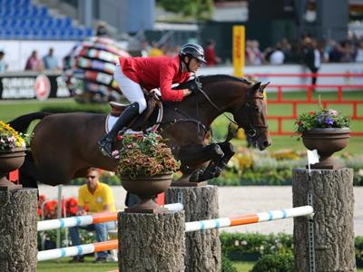 Grégory Wathelet, an asset of the Belgian national team Grégory Wathelet at the jumping in Aachen